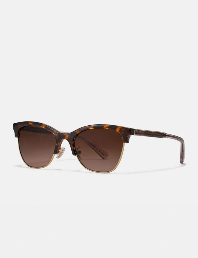 Signature Retro Sunglasses - Coach, $128 (originally $255)