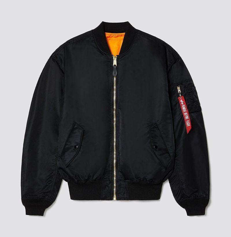 """<p><strong>Alpha Industries</strong></p><p>alphaindustries.com</p><p><strong>$150.00</strong></p><p><a href=""""https://go.redirectingat.com?id=74968X1596630&url=https%3A%2F%2Fwww.alphaindustries.com%2Fcollections%2Fmen-flight-and-bomber-jackets%2Fproducts%2Fmjl49004c1-mens-l-2b-loose-flight-jacket&sref=https%3A%2F%2Fwww.esquire.com%2Fstyle%2Fnews%2Fg2932%2F10-best-bomber-jackets-for-fall%2F"""" rel=""""nofollow noopener"""" target=""""_blank"""" data-ylk=""""slk:Buy"""" class=""""link rapid-noclick-resp"""">Buy</a></p><p>Still setting the standard after all these years. </p>"""