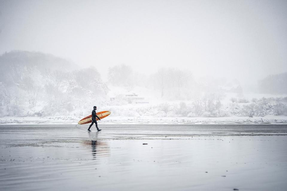 "<p><strong>Best thing to do in New Hampshire:</strong> Try your hand at winter surfing</p> <p>Not for the faint of heart, winter surfing has replaced skiing as the state's trendiest cold-weather sport. ""It isn't as consistent as some places out west, and it definitely isn't as warm as Hawaii,"" <a href=""https://www.cntraveler.com/story/in-new-hampshire-winter-surfing-is-the-new-skiing?mbid=synd_yahoo_rss"" rel=""nofollow noopener"" target=""_blank"" data-ylk=""slk:writes Todd Plummer"" class=""link rapid-noclick-resp"">writes Todd Plummer</a> for <em>Traveler</em>, ""but from hurricane season in the fall through March (and whenever a blizzard pummels the coast), the surfing here can be as good as or even better than anywhere else in the U.S."" Sure, you have to wear a thick suit and Vaseline on your face, but you'll be rewarded with six- to ten-foot surf that pros swear is among the best they've ever experienced.</p>"