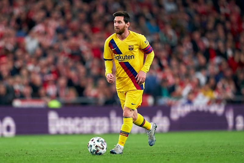 Lionel Messi in Bilbao (Photo by Quality Sport Images/Getty Images)