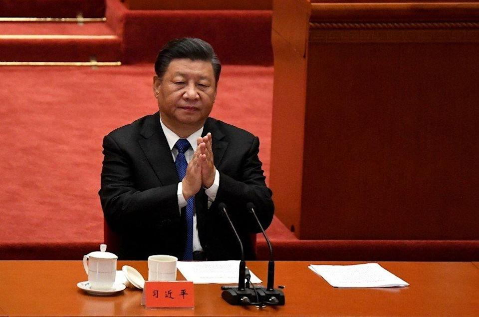 Chinese President Xi Jinping will deliver a speech on Tuesday via video link at the COP15 summit. Photo: AFP