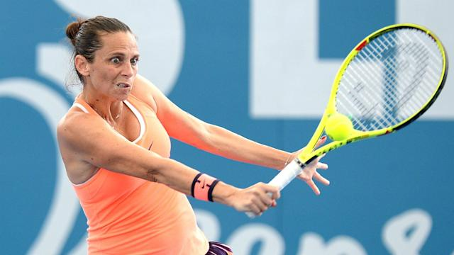 Two seeds, Roberta Vinci and Monica Niculescu, were in action in Biel/Bienne on Monday and both lost in round one.