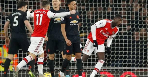 Foot - ANG - Premier League : Mikel Arteta gagne enfin avec Arsenal contre Manchester United