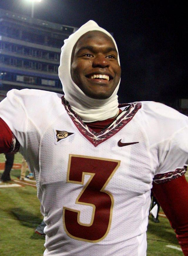 Myron Rolle almost missed FSU's game against Maryland because of his Rhodes Scholarship ceremony three hours before kickoff. (Getty)
