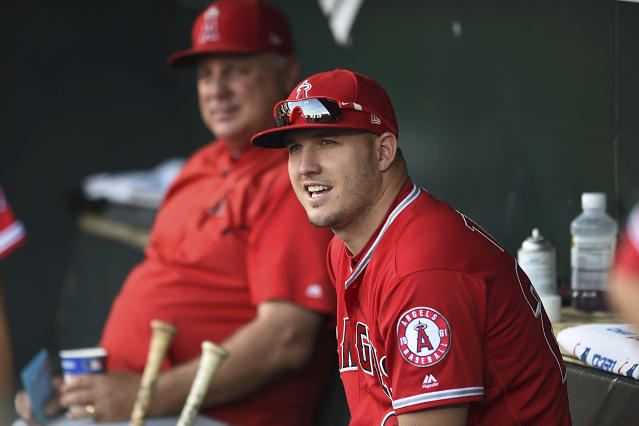 You already knew Mike Trout would be on this list. (AP)
