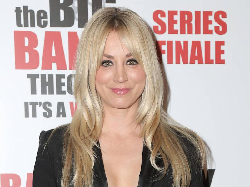Kaley Cuoco claps back at mask shamers after sharing workout clip