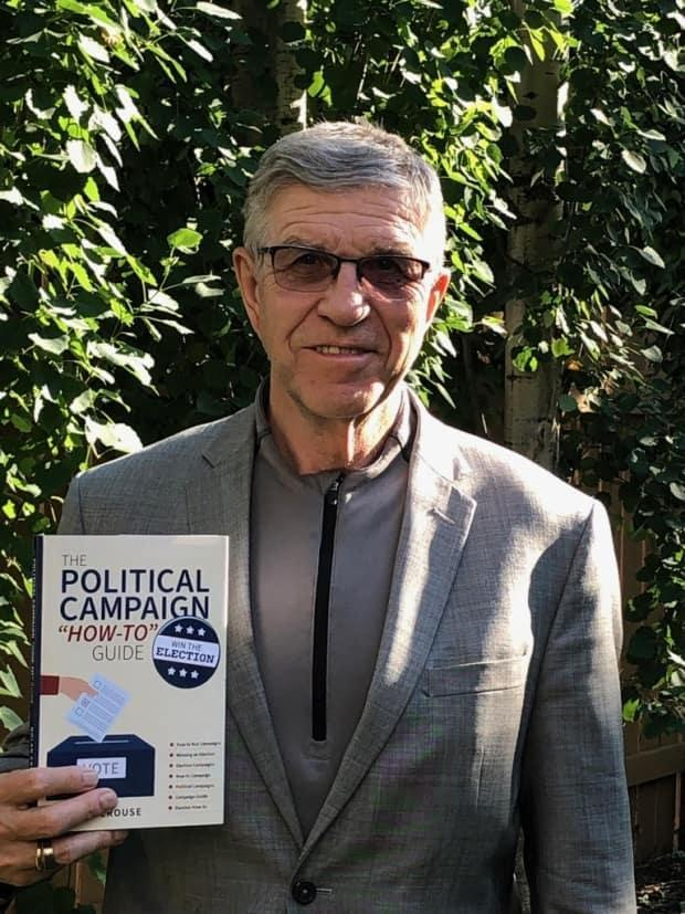 Former St. Albert mayor Nolan Crouse recently wrote his first book on how-to win a pollical campaign.  (Submittedby Nolan Crouse  - image credit)