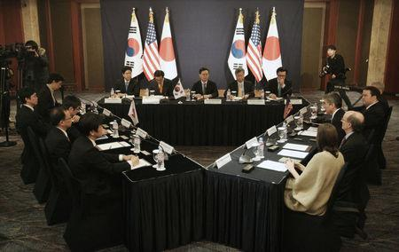 Delegates meet to discuss a variety of bilateral and multilateral responses to the North Korea's nuclear test in Seoul