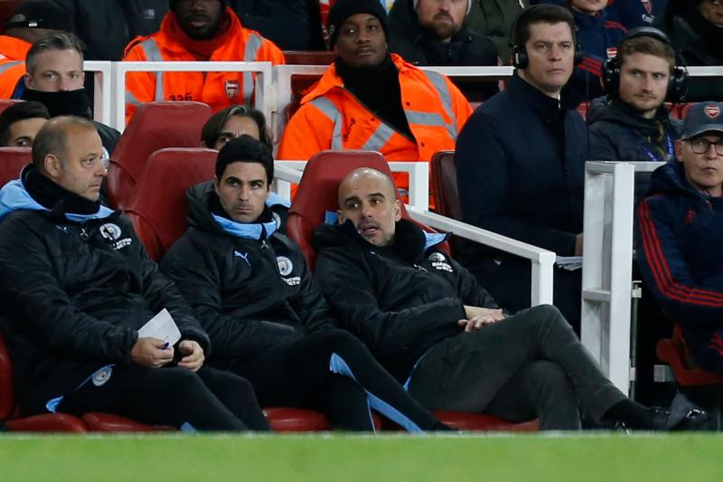 Arteta has met with Arsenal officials over manager's job