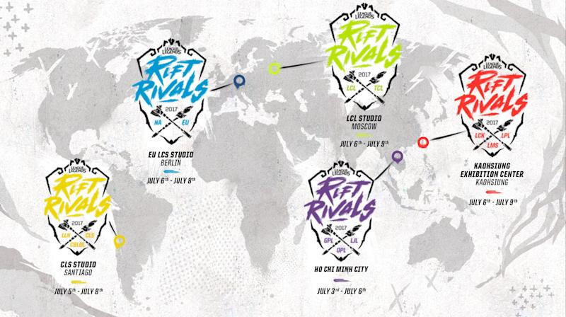 Rift Rivals is coming soon. (Riot Games)