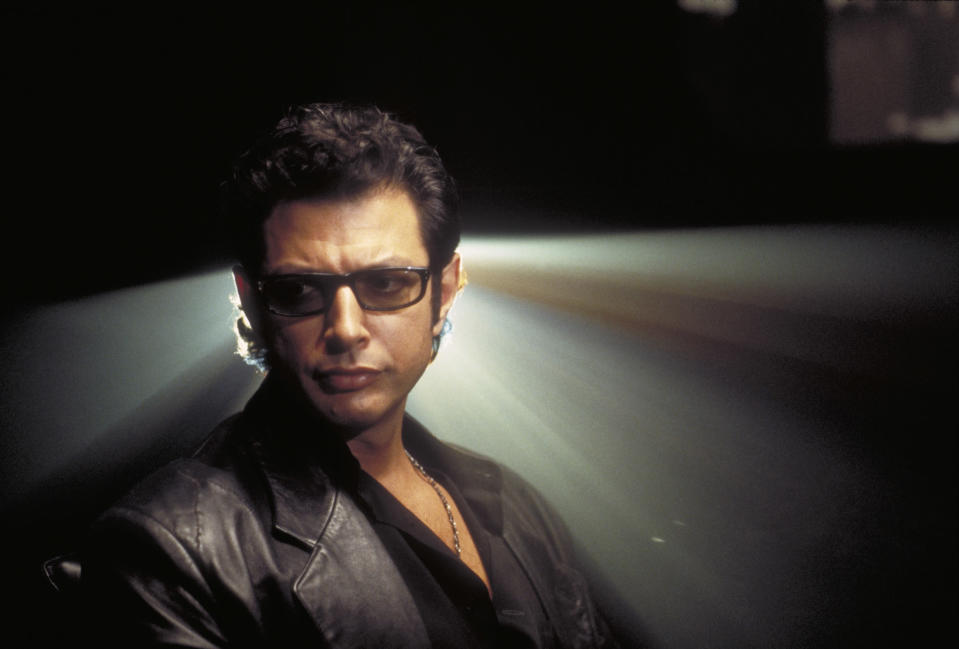 Dr Ian Malcolm was nearly cut from Jurassic Park