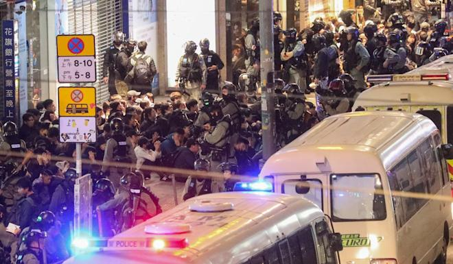 As of January 2, about 7,000 people had been arrested over anti-government protests. Photo: Dickson Lee