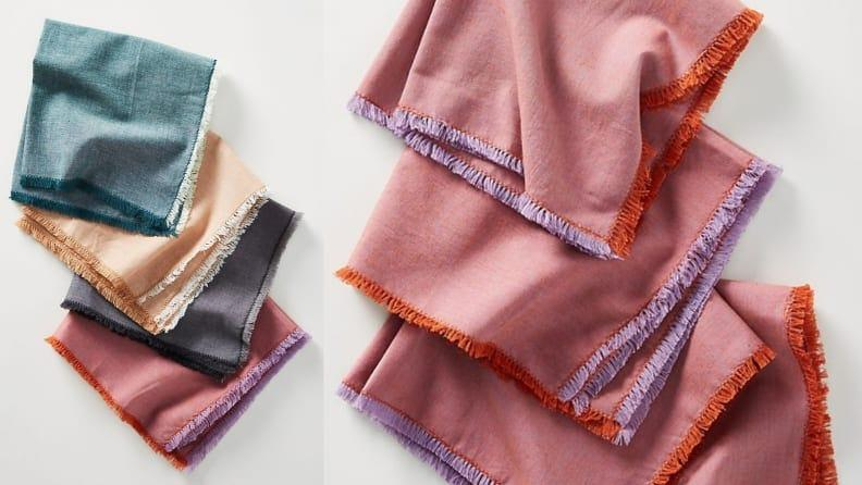 These stylish napkins from Anthropologie can match any tablescape.