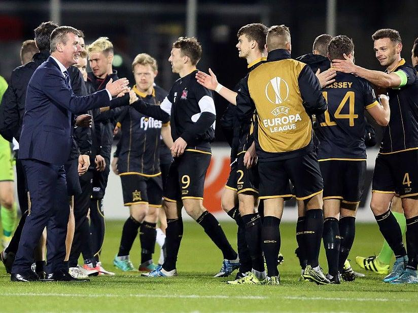 Stephen Kenny guided Dundalk to the Europa League in 2016Getty