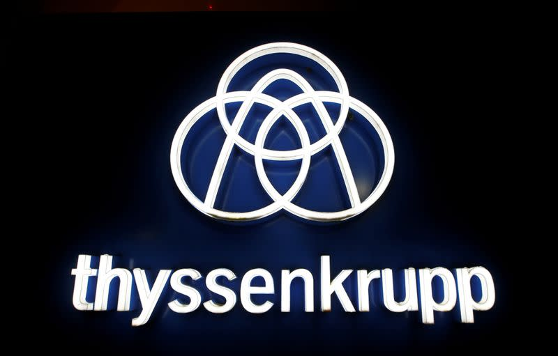 Thyssenkrupp shares hit record low after elevator sale