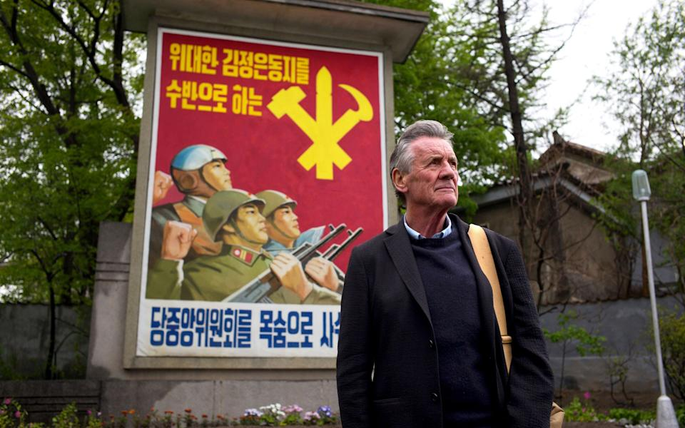 Michael Palin is among the heavyweight presenters now leading the channel's coverage - Channel 5