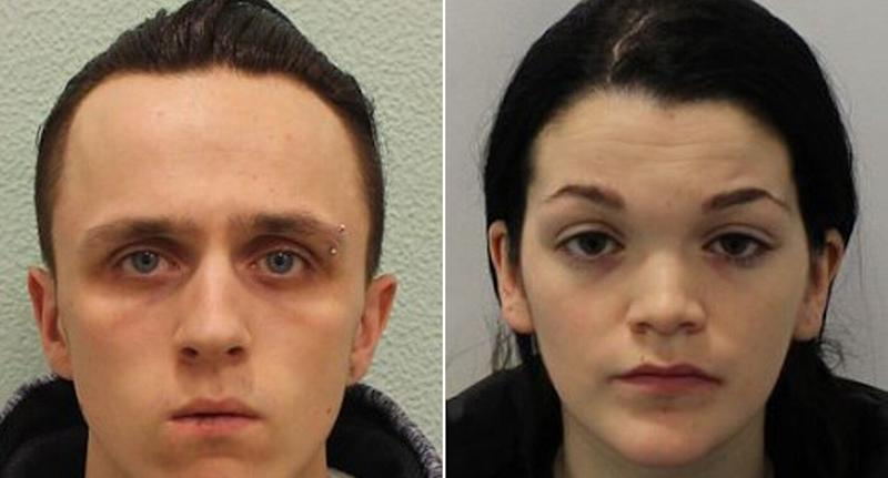 Adrian Hoare failed to prevent her boyfriend Stephen Waterson from allegedly squashing Alfie. (PA)