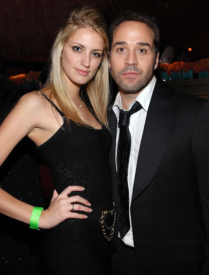 """<a href=""""/jeremy-piven/contributor/31785"""">Jeremy Piven</a> and Melrose Bickerstaff at the In Style and Warner Bros. 2007 Golden Globe After Party."""