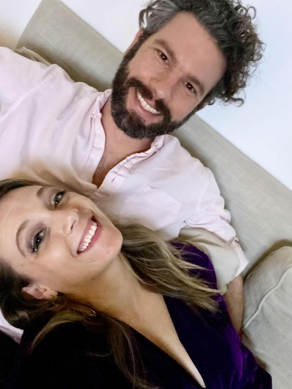 "<p><strong>Names:</strong> Carly Ann Filbin & Marcus<br> <strong>Ages:</strong> 35 & 37<br> <strong>Location:</strong> Brooklyn, New York <br> <strong>Submitted By: </strong>Carly Ann Filbin<br> <br> I'm a comedian (a talented and hot comedian) and in 2020 I took advantage of the stillness and slowness to write down every detail about my disastrous dating life. And though the final product will be VERY FUNNY, the process has been depressing and shameful. It was right there on the page: my desperate and insecure approach to finding love. It made me want to get out there, to date again in my 30s, now that I know myself completely and possess the type of confidence that makes people on the street whip their head around and whisper ""Who's that girl!?"" Sure, dating in a pandemic would be hard, but not harder than spending eight months alone in my studio apartment.<br> <br> So I started swiping on Hinge. I wasn't looking for love. I was looking to finally have fun dating as opposed to being tortured by it. Marcus was so hot that I was like ""<em>wait</em> they let models on Hinge?"" I almost passed him up because he has the same name as my dad. But he had a dog so I swiped right. <br> <br> Our first date was freezing, dark and such a blur but somehow, three weeks later, I was meeting his family for Christmas in Michigan (we drove and were COVID-safe).<br> <br> My quarantine is stuffed with the romance my life lacked in my 20s, the cute relationship s--- I've always wanted but never thought I would actually get. He makes me playlists and he makes me dinner and he makes me happy. Timing is everything, and it's ironic and poetic that this cynic of love found it in a hopeless place. We haven't said ""I love you"" yet. But I love him. I hope we don't break up before this is published. </p>"
