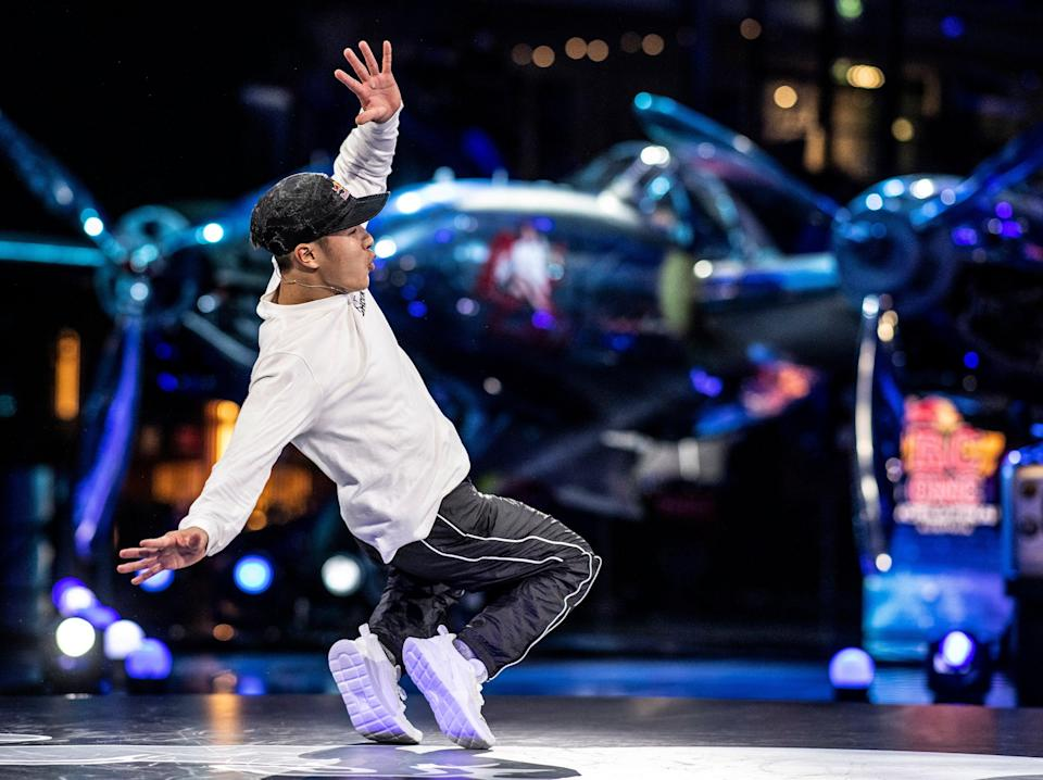 Shigekix of Japan competes during the Red Bull BC One World Final (Getty Images)