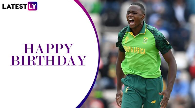 Kagiso Rabada Birthday Special: 6/54 vs Australia and Other Stupendous Performances by the South African Speedster