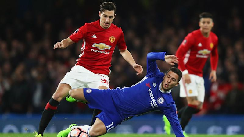 No plans to stop United targeting Hazard - Conte