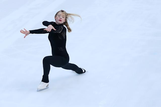 Gracie Gold in action. (Getty)