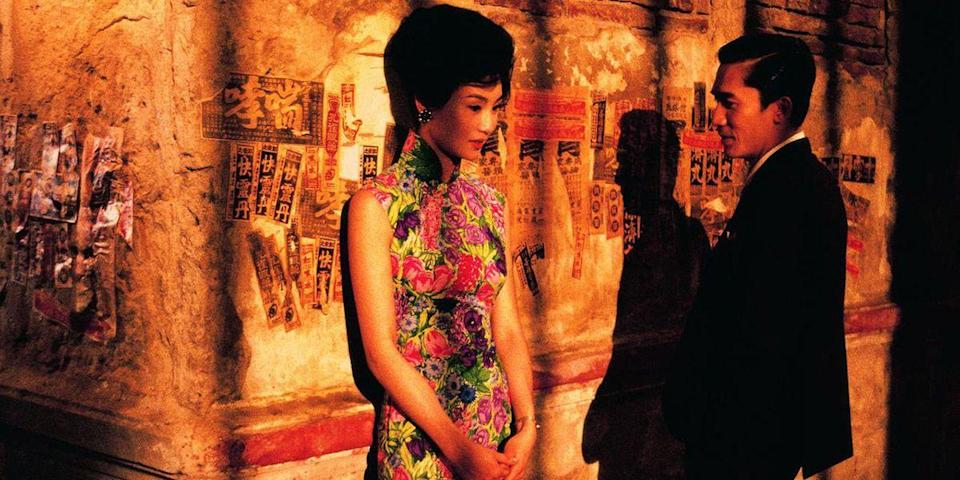 "<p>Wong Kar-wai's melancholic period drama is as romantic as the costume silks are vibrant. A love square of sorts, the story charts the sexual tension blossoming between two neighbors who've just learned their partners are sleeping with each other. Like any good romp between the sheets, this one takes its time. <a class=""link rapid-noclick-resp"" href=""https://www.amazon.com/Mood-Love-Rakesh-Kukreti/dp/B079R6VPT9/?tag=syn-yahoo-20&ascsubtag=%5Bartid%7C10056.g.6498%5Bsrc%7Cyahoo-us"" rel=""nofollow noopener"" target=""_blank"" data-ylk=""slk:Watch Now"">Watch Now</a></p>"