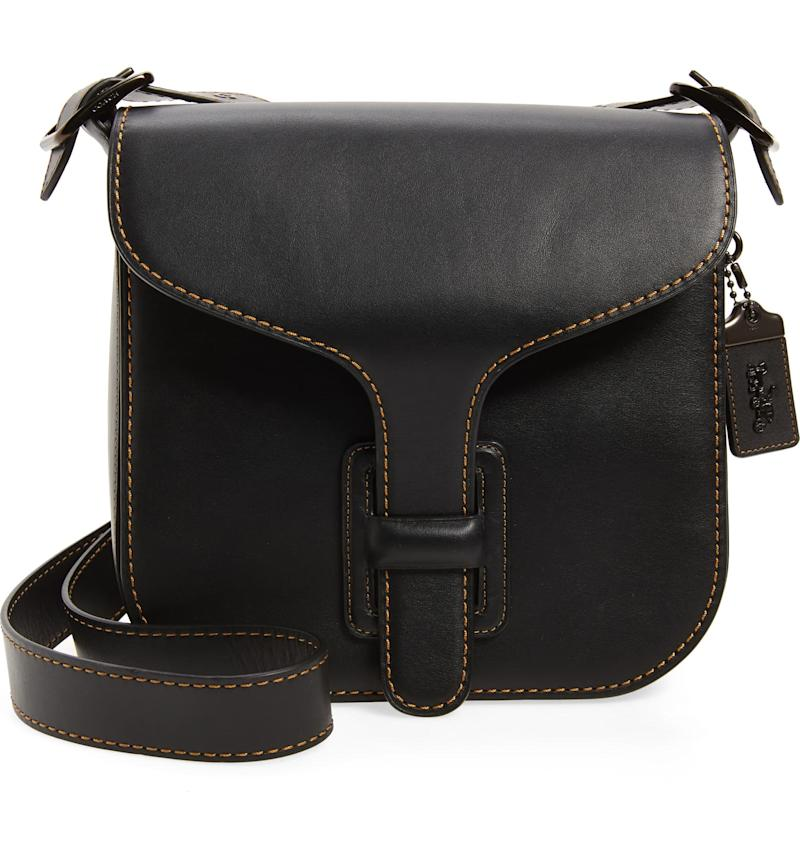 Coach Courier Leather Convertible Bag. Image via Nordstrom.