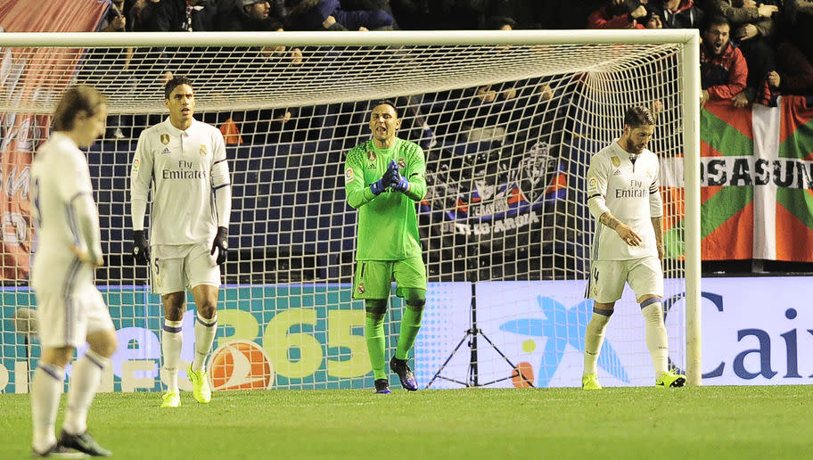 <p>Zidane's side has been an absolute shambles at the back in recent weeks.</p> <br /><p>In the past five La Liga matches, Madrid have conceded nine goals, which has meant that the team has had to produce stunning comebacks to get something out of the matches in some instances.</p> <br /><p>Uncharacteristically for a Real Madrid side, they have the fourth best defensive record in the league this season and the back four have played a crucial role in Madrid's position in the table.</p> <br /><p>Madrid have gone five matches in without a clean sheet and if they want to push for the title, they need to get back to basics and stop making mistakes at the back.</p>