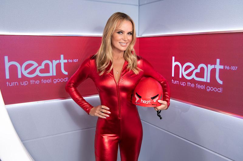 Amanda Holden will be taking on a charity skydive as part of Heart Radio's Big Jump (PA)