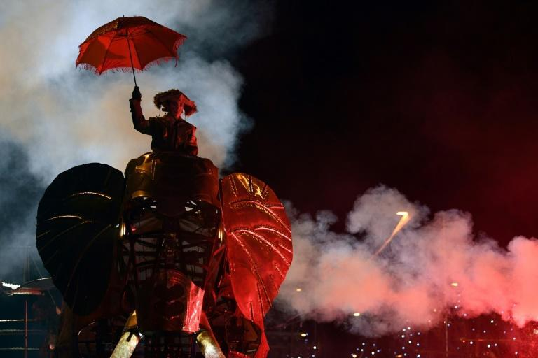 Extravagant 'Reyes' celebrations in cities like Barcelona and Madrid can feature contraptions like this life-sized elephant puppet seen in January 2020.
