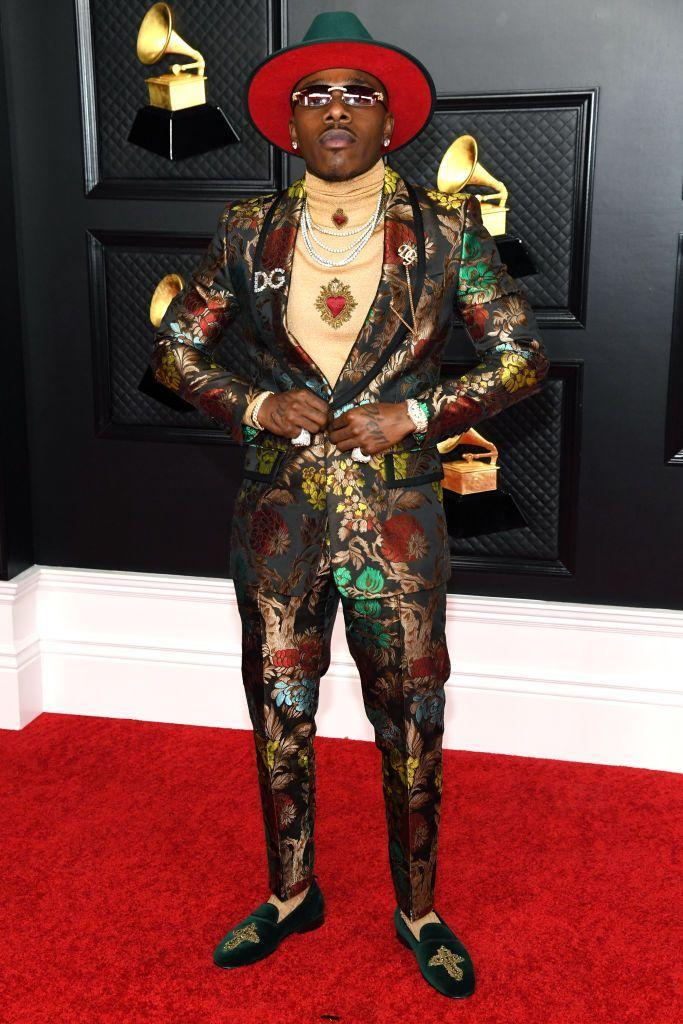 <p>DaBaby in Dolce&Gabbana <br></p>