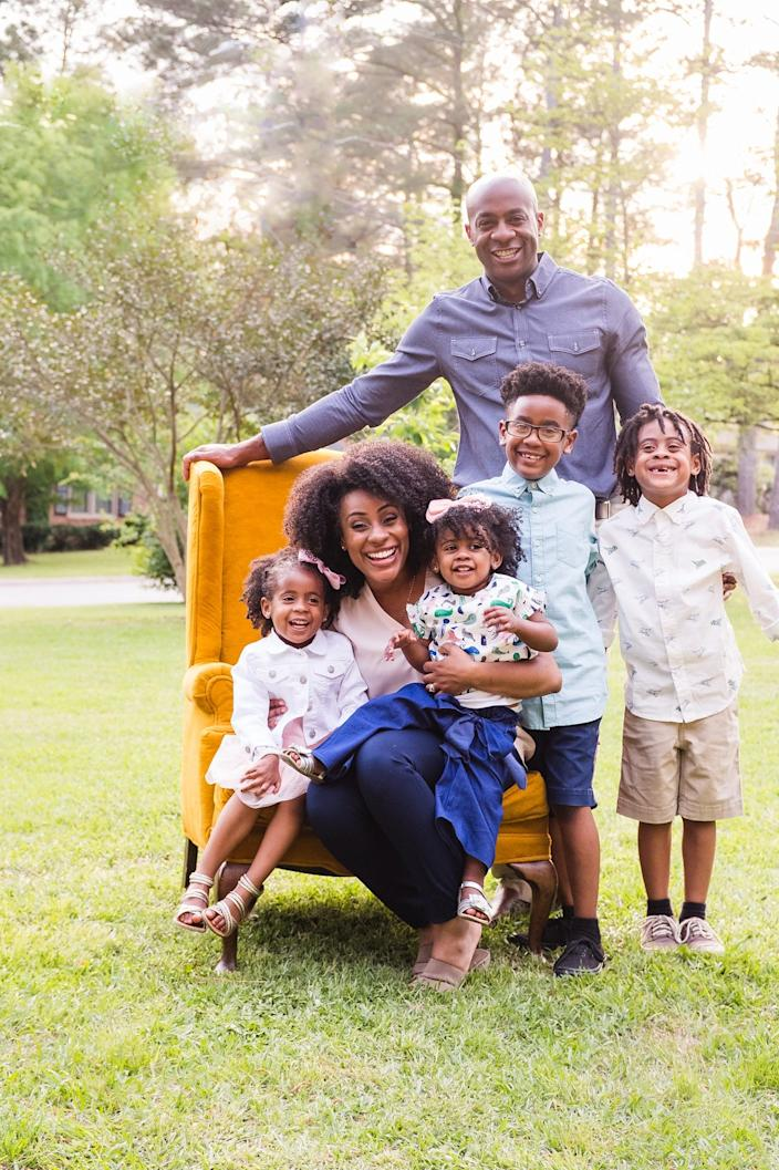 Grass Grazed Farm owners Derrick and Paige Jackson want to pass along their farming experiences to their five children.