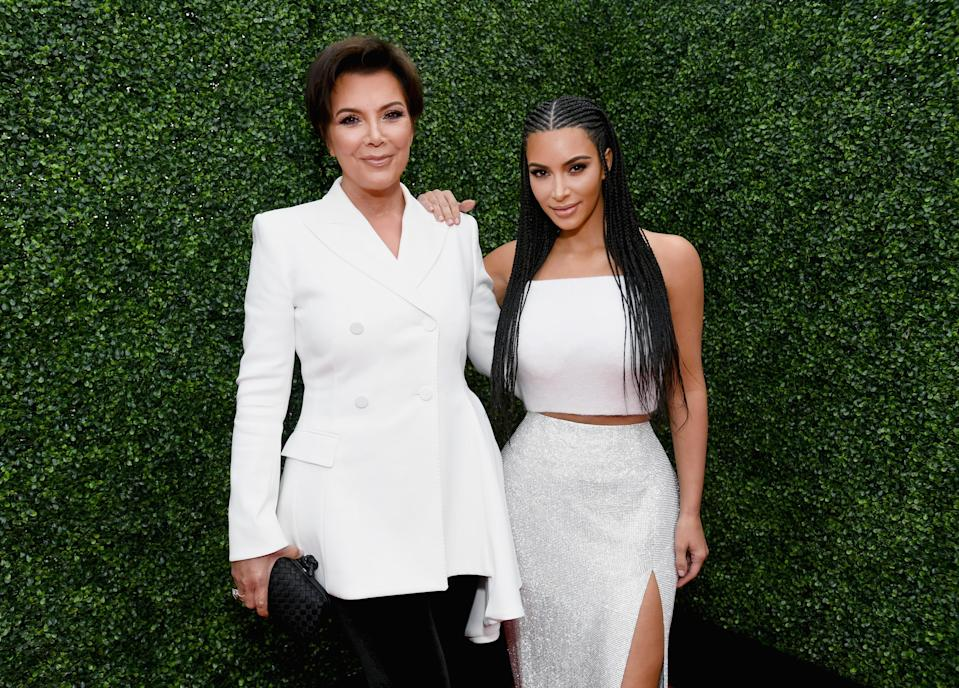 She shared the throwback to celebrate Mother's Day. (Getty Images)