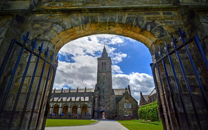 St Andrews' students make up around half of the town's population - iStockphoto