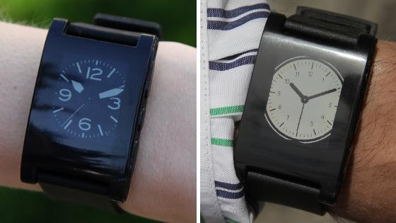 """One of the most funded projects of the year, <a href=""""http://www.kickstarter.com/projects/597507018/pebble-e-paper-watch-for-iphone-and-android?ref=category"""">Pebble</a>  is a customizable watch that lets users download new watch faces, use  sports and fitness apps and get notifications from their smartphone.  Pebble connects to iPhone and Android smartphones using Bluetooth,  alerting users with a silent vibration to incoming calls, emails and  messages. If they choose, Pebble wearers can be alerted to a number of  notifications, including Facebook messages, new tweets, weather updates  and calendar alerts. The project raised more than $10 million from  nearly 70,000 backers in less than six weeks."""