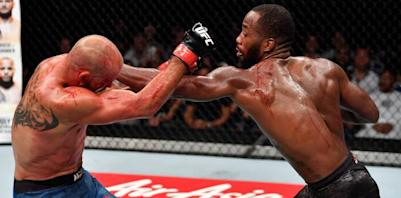 Leon Edwards vs Donald Cerrone UFC Singapore Highlights