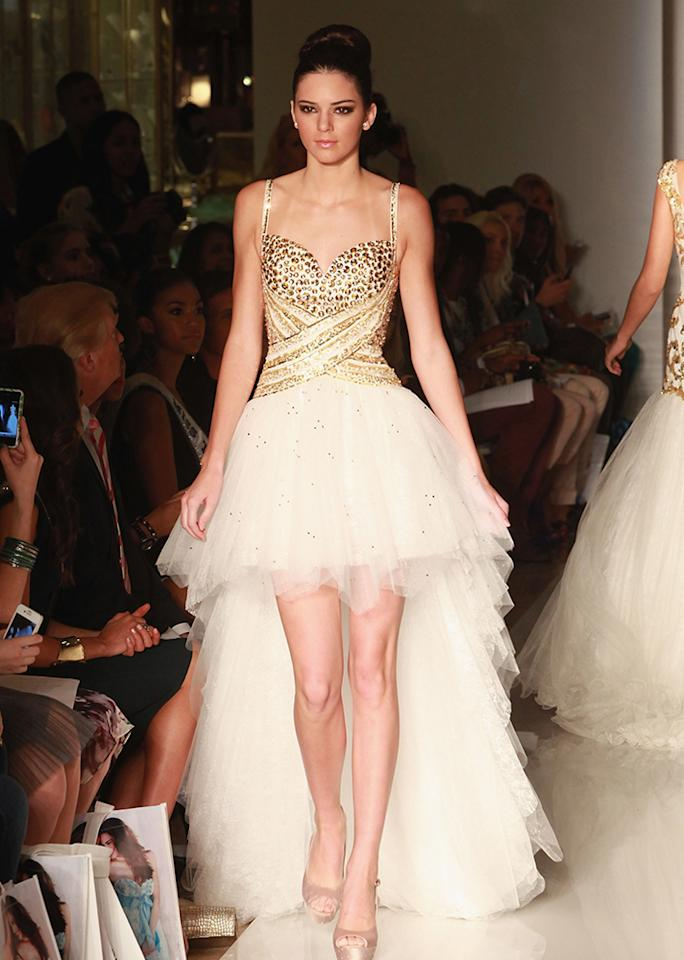 On the runway at Evening by Sherri Hill.