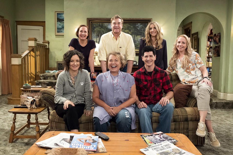 """<p><strong>This season's theme:</strong> They're back! More than 20 years after the original series finale, the sitcom returns for a nine-episode 10th season that includes most of the original cast.<br><br><strong>Where we left off:</strong> Yes, that includes John Goodman, whose Dan Conner was killed off in that May 1997 finale. Dan's resurrection will be addressed as we rejoin the Conner family, who still live in their Lanford, Illinois, home (featuring that familiar crocheted throw on the sofa).<br><br><strong>Coming up:</strong> If there's one family we'd like to hear talk politics, it's the Conners, and <em>Roseanne</em> revival executive producer Whitney Cummings says that's definitely an angle that will be covered in the return. """"We wanted to check in with what would the Conner family be up to right now? What would they be struggling with? What would their problems look like? Who would they have voted for? What news would they be watching?"""" she says. """"We really wanted to go back to the family that everybody knows and loves, who has earned the right to talk about these issues.""""<br><br><strong>Reunited, and it feels so good:</strong> Cummings, a fan of the original <em>Roseanne</em> who also starred in her own eponymous sitcom, says it was magical to see the cast team up again: """"It was like watching a family get back together. People were crying. John Goodman and Roseanne, they're cracking each other up, and we have to stop filming for a second, because everybody's laughing. They were all walking around the set in awe. Everyone was so excited and giddy about it. Nobody is taking this for granted. And I don't think anybody's underestimating how big an impact or how big of a maybe healing conversation this could start."""" <em>— Kimberly Potts</em><br><br>(Photo: Adam Rose/ABC) </p>"""