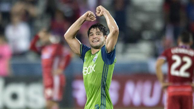 Nicolas Lodeiro and Daniel Royer have the two MLS sides in front after 45.