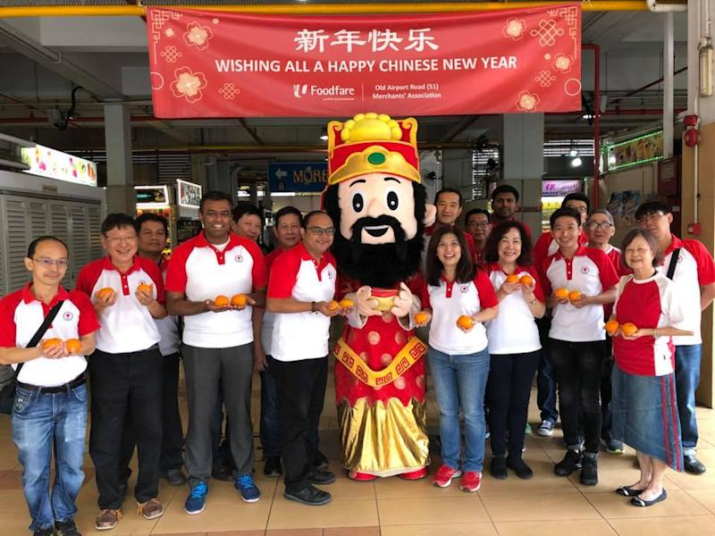 The Singapore People's Party members during a Chinese New Year celebration event. (PHOTO: Singapore People's Party/Facebook)