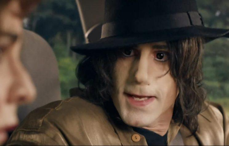 Jacko... Joseph Fiennes as the King of Pop - Credit: Sky