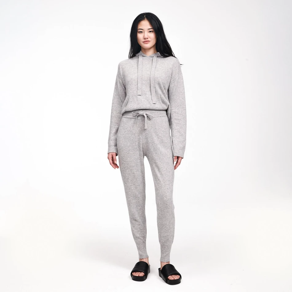 "<h3>Naadam</h3><br>This sustainable and ethical knitwear brand makes a great range of sweat sets in the perfect cotton cashmere blend and lined with cozy fleece.<br><br><em>Shop <strong><a href=""https://naadam.co/"" rel=""nofollow noopener"" target=""_blank"" data-ylk=""slk:Naadam"" class=""link rapid-noclick-resp"">Naadam</a></strong></em><br><br><strong>Naadam</strong> Cashmere Hoodie, $, available at <a href=""https://go.skimresources.com/?id=30283X879131&url=https%3A%2F%2Fnaadam.co%2Fproducts%2Fcashmere-hoodie%3Fvariant%3D32611413622880"" rel=""nofollow noopener"" target=""_blank"" data-ylk=""slk:Naadam"" class=""link rapid-noclick-resp"">Naadam</a><br><br><strong>Naadam</strong> Cashmere Jogger, $, available at <a href=""https://go.skimresources.com/?id=30283X879131&url=https%3A%2F%2Fnaadam.co%2Fproducts%2Fcashmere-jogger"" rel=""nofollow noopener"" target=""_blank"" data-ylk=""slk:Naadam"" class=""link rapid-noclick-resp"">Naadam</a>"