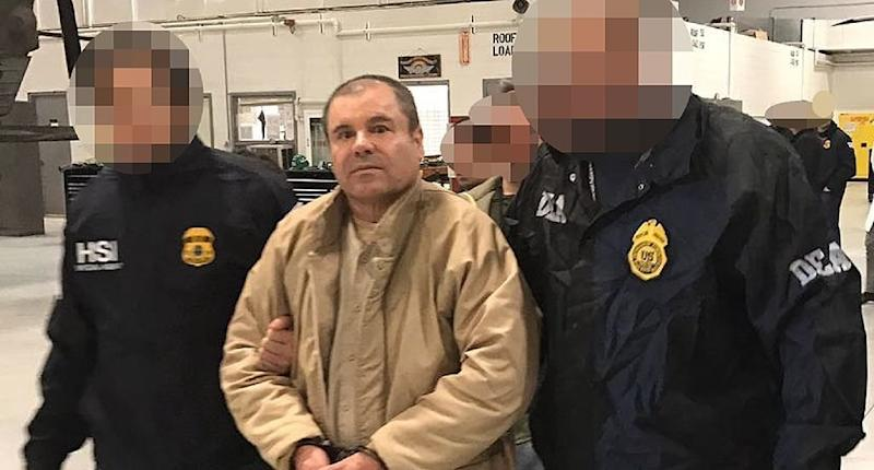 "The trial of Joaquin ""El Chapo"" Guzman is under tight security, authorities said. (Yahoo Magazines PYC)"