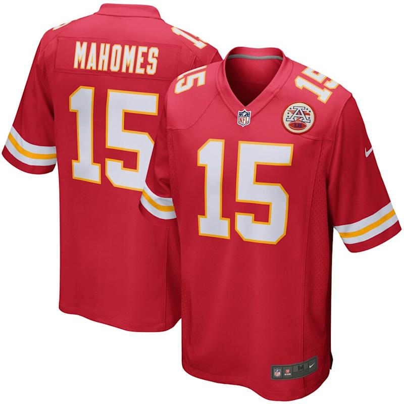 Mahomes Chiefs Nike Game Jersey