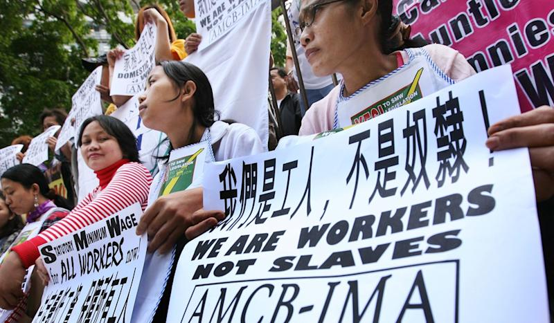 Judge quashes domestic helper's bid for change to 'live-in' rule in Hong Kong