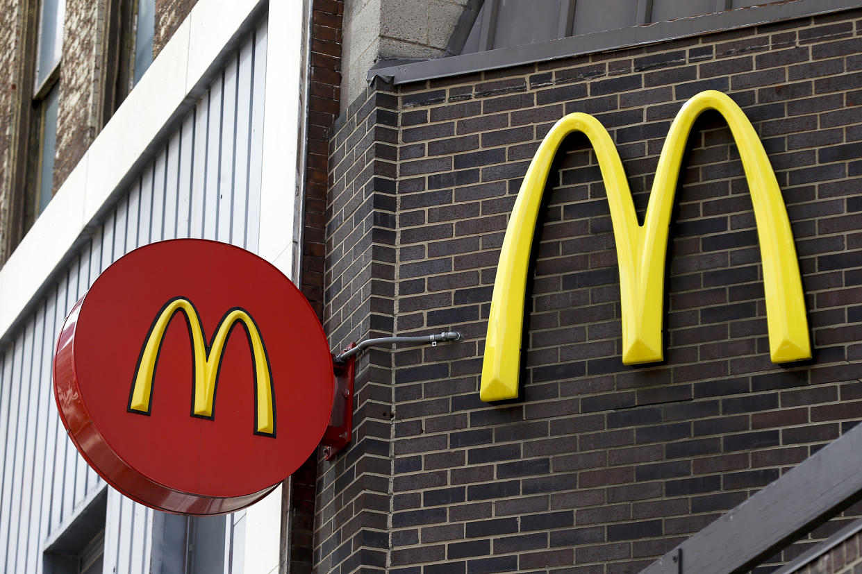 McDonald's on Tuesday, March 20, 2018, announced a number of steps it will take to cut the greenhouse gases it emits into the air, including tweaking the way the beef in its Big Macs and Quarter Pounders is produced. The Coller FAIRR Protein Producer Index 2019 findings revealed the fast food giant's suppliers do not measure their greenhouse gas emissions. (AP Photo/Keith Srakocic, File)