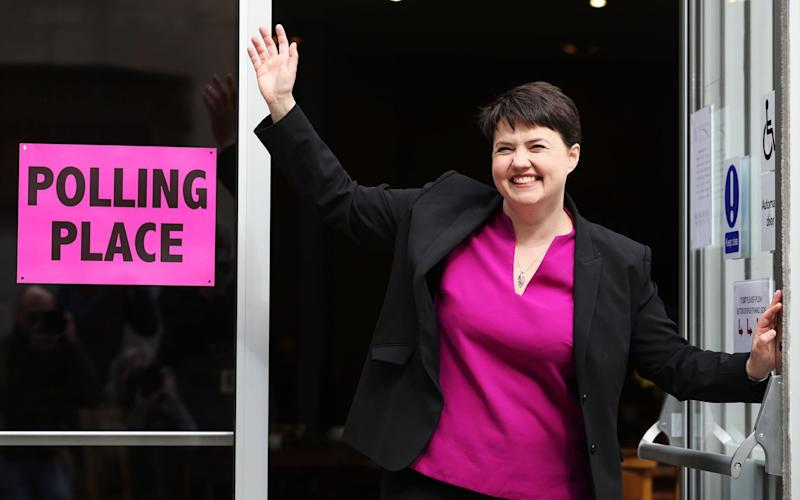 Ruth Davidson, the Scottish Tory leader  - Credit: Andrew Milligan/PA