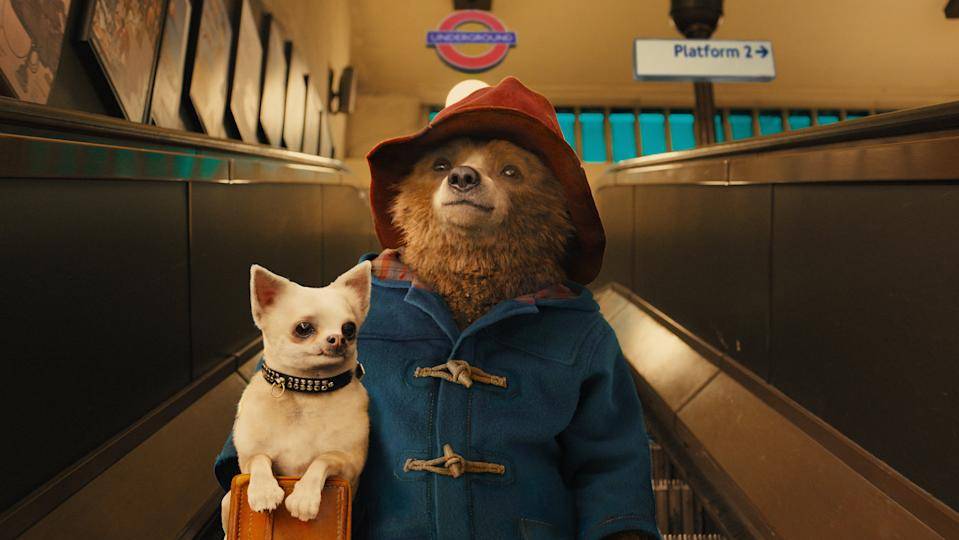 Ben Whishaw voices Paddington bear in 2014's Paddington and its sequel. (Studiocanal)